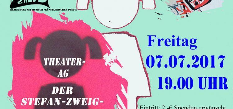Hinter verschlossenen Türen – Theater AG der Stefan-Zweig-Realschule zeigt ihre diesjährige Produktion