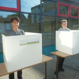 Juniorwahl an der Stefan-Zweig-Realschule