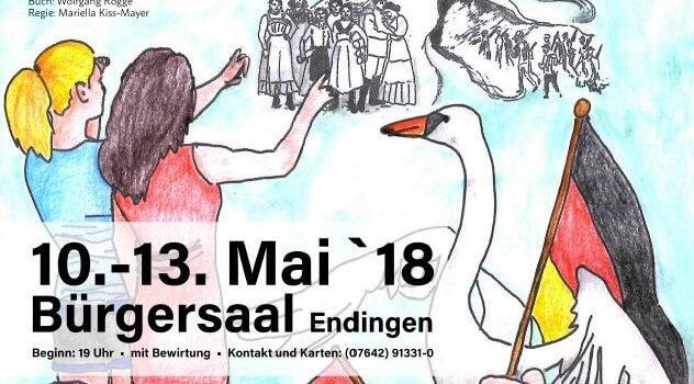 Vorankündigung für neues Musical «Wilde Schwäne»
