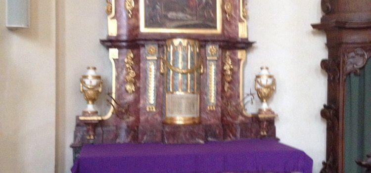Evangelische Religruppe 6 besucht St.Peter
