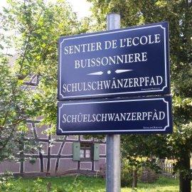 """Endinger und Ersteiner Schüler in der """"Sprochmühle"""""""